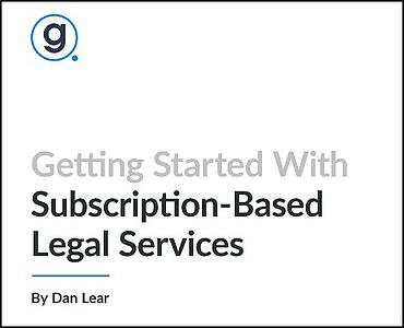 Gravity Legal Subscription Legal Services White Paper