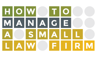 RJon Robins from How To Manage a Small Law Firm on Financially Legal