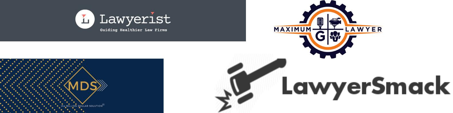 Lawyer community logos