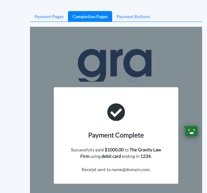 Payment Page Previews